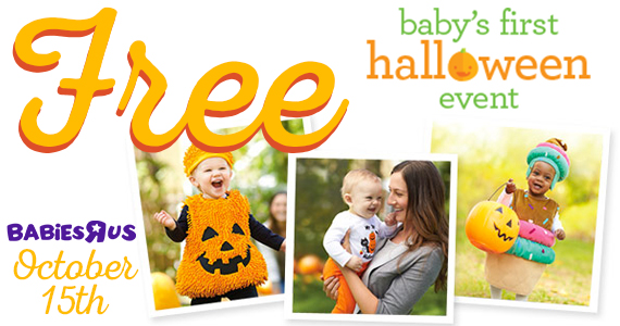 Baby's First Halloween Event at Babies R Us