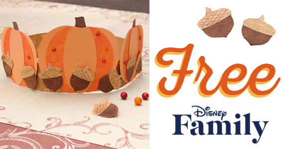 Free Belle's Thanksgiving Crown Printable
