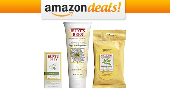 Get a Burt's Bees Basic Face Care Kit For Only $19.00
