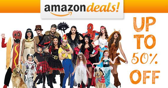 Save Up to 50% off Halloween Costumes on Amazon