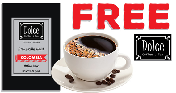 Free Sample of Dolce Coffee