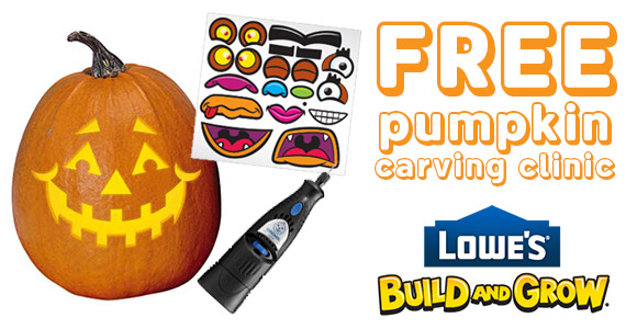 Free Pumpkin Carving Demonstration At Lowe's