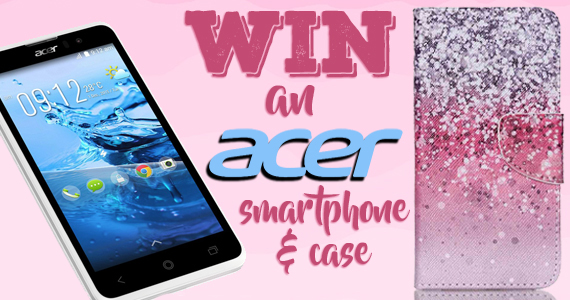 Win an Acer Liquid Z520 Smartphone & Pink Case