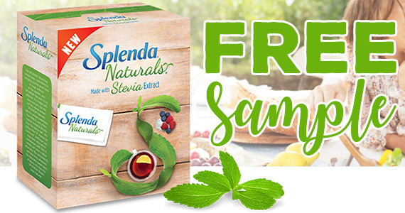 Free Sample of Splenda Naturals Stevia Sweetener