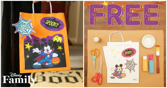 Mickey & Friends Trick-or-Treat Bags