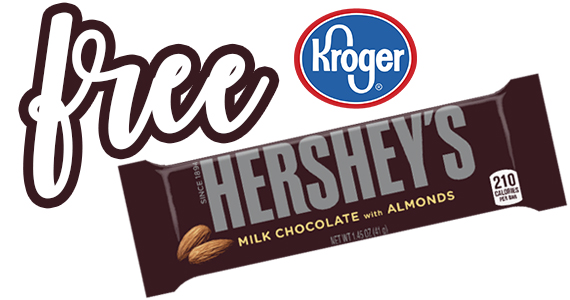 Free Hershey's Milk Chocolate With Almonds Bar – Today Only!