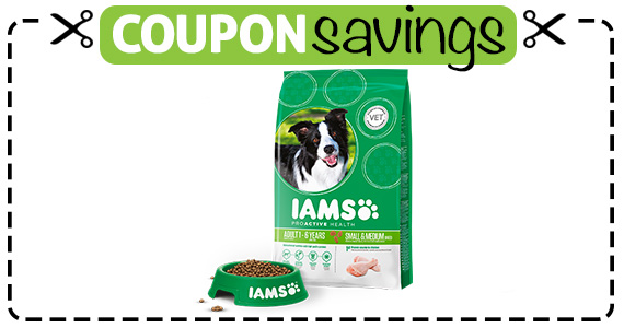 Save $2 IAMS Dry Dog Food
