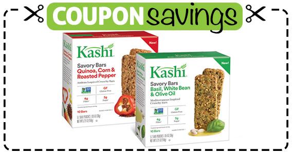 Save $1 off Kashi Savory Bars