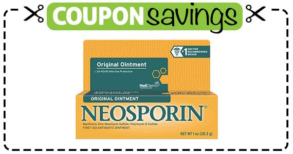 Save $1 off Neosporin