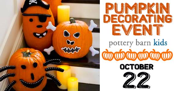 Free Pumpkin Decorating Event
