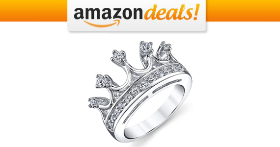 Get a Sterling Silver Princess Crown Ring For Only $14.99