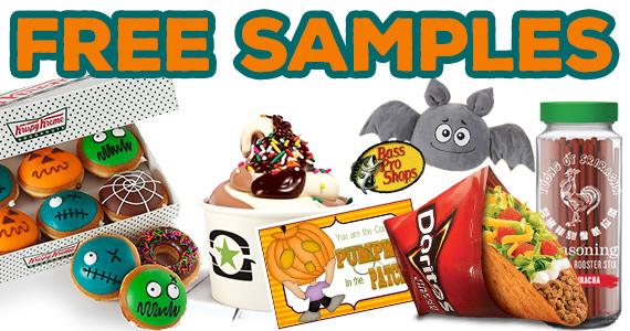 Free Sample Roundup Week of 10/24