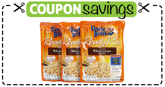 Save $1 off 2 Uncle Bens Grains Products