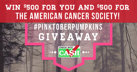 Win $500 For You and a $500 For American Cancer Society