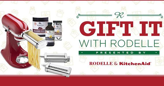 Win a KitchenAid Artisan Mixer & Rodelle Prizes