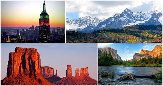 Win a Trip to NYC, Arizona, Colorado or Yosemite Valley
