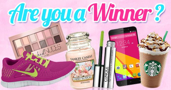 WomanFreebies.com WINNERS
