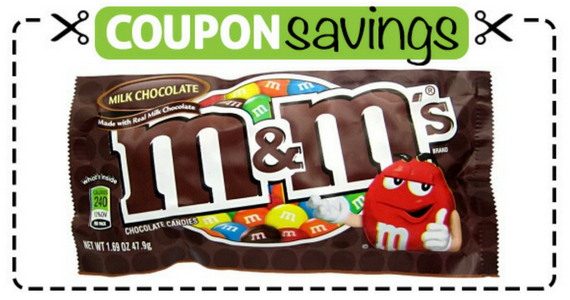 Buy 1 M&M's, Get One Free