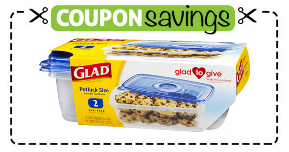 Save $1 off Glad Food Storage