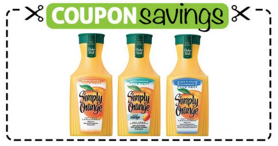 Save $1 off Simply Orange 59oz Product