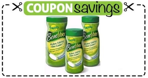 Save $2 off Benefiber