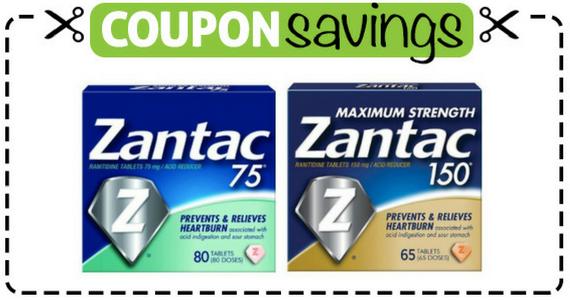 Save $4 off Zantac
