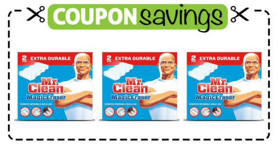 Save 50¢ off one Mr. Clean Magic Eraser