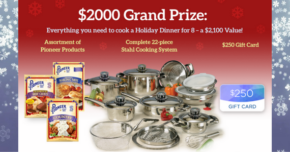 Win 22-Pc Cookware Set, $250 Grocery Gift Card and more