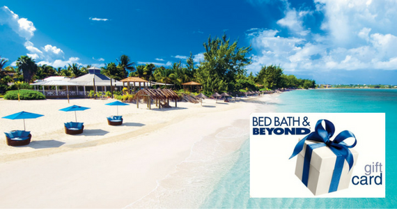 Win a Beaches Getaway + $1,000 Bed, Bath & Beyond Spree