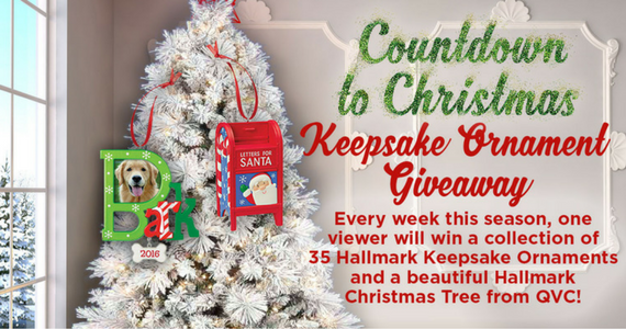 Win a Collection of Hallmark Ornaments & Christmas Tree