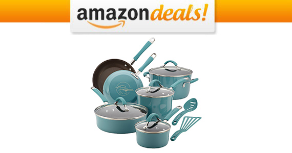 Get a Rachael Ray Cucina Cookware Set For Only $89.99