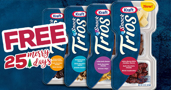 Free Kraft Snack Trio From Kroger – Today Only