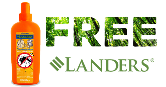 Free Sample Of Lander's All Natural Pest Repellent