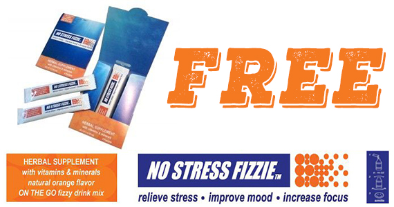 Free No Stress Fizzie Sample