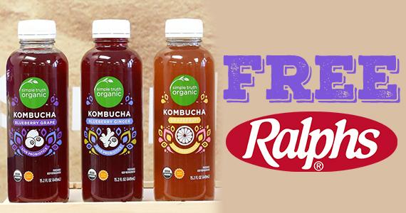 Free Simple Truth Kombucha At Ralphs