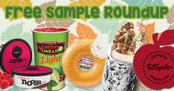 Free Sample Roundup Week of 10/31