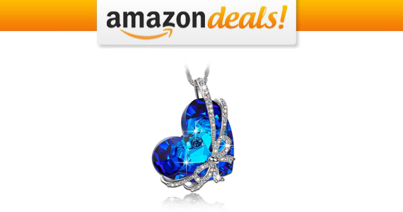 Get a Qianse 'Heart of The Ocean' Pendant For $28.79