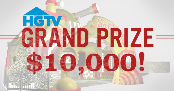 Win $10,000 From HGTV