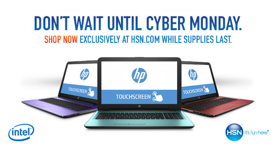 Get an Intel HP Touch Laptop For Only $399.95 From HSN