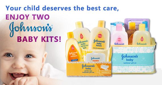 Get 2 Free Johnson's Baby Kits