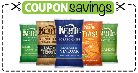 Save $1 off any 2 Kettle Brand Chips