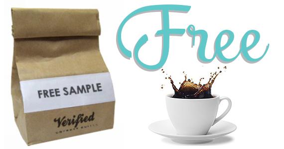 Free Sample Of Freshly Roasted Coffee