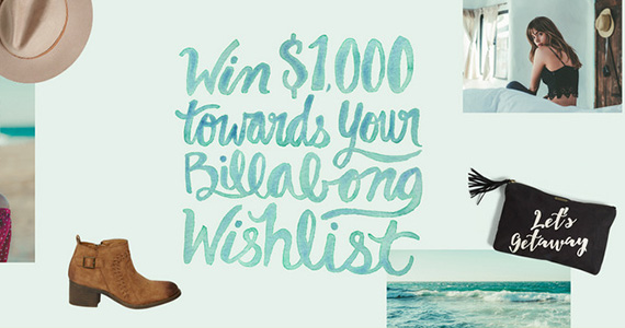 Win $1,000 To Spend at Billabong