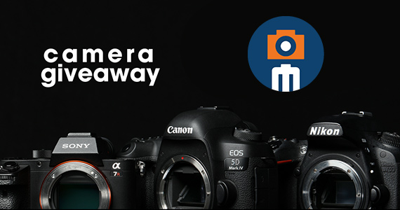 Win Your Choice of Canon, Sony or Nikon Camera
