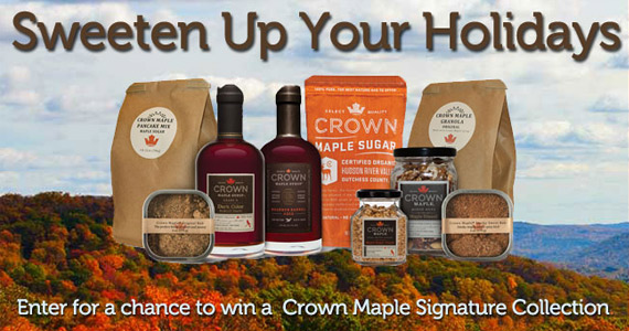 Win a Crown Maple Sugar Prize Pack