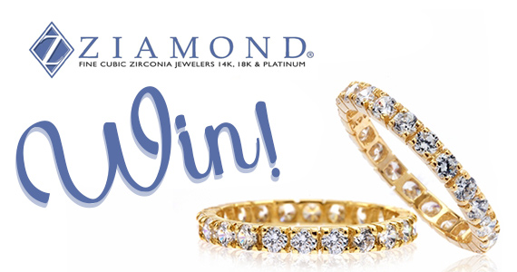 Win a 14K Yellow Gold Cubic Zirconia Ring