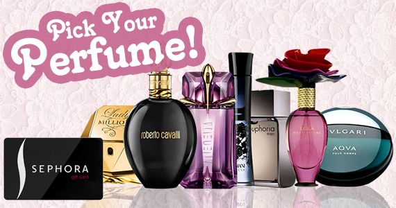 Win a Perfume of Your Choice!
