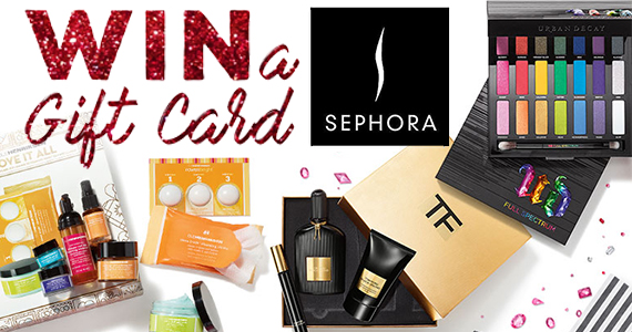 Win a $75 Sephora Gift Card