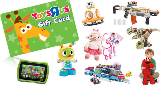 Win 1 of 2 Toys R Us Gift Cards