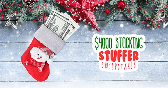 You Could Win $4,000